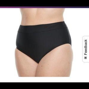 Croft and Barrow Semi High Waist Panty Bikini NWT